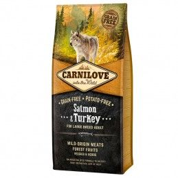 Carnilove Salmon & Turkey Adult Large Dog