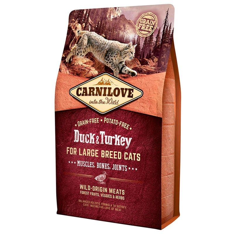 Carnilove Cat Adult Large Breed Duck & Turkey