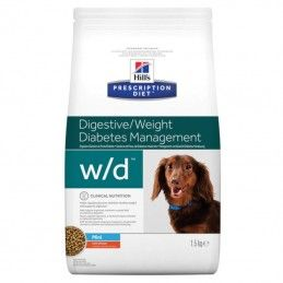 Hill's Prescription Diet Dog W/D Mini Digestive Weight Diabetes Management