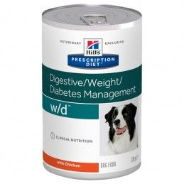 Hill's Prescription Diet Dog W/D Digestive Weight Diabetes Management wet
