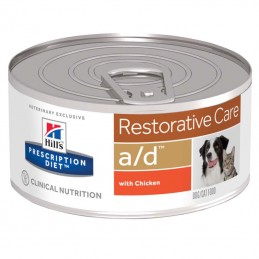 Hill's Prescription Diet Dog & Cat A/D Restorative Care wet lata