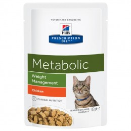 Hill's Prescription Diet Cat Metabolic Weight Management wet saqueta