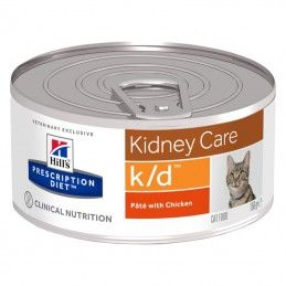 Hill's Prescription Diet Cat  K/D Kidney Care Chicken wet lata