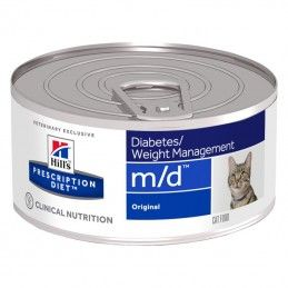 Hill's Prescription Diet Cat M/D Diabetes Weight Management wet lata