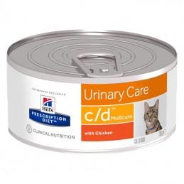 Hill's Prescription Diet Cat C/D Urinary Multicare Chicken wet lata