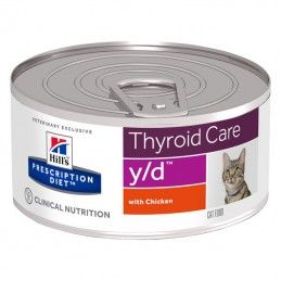 Hill's Prescription Diet Cat Y/D Thyroid Care wet lata