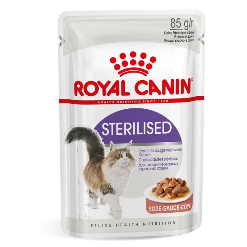 Royal Canin Sterilised em molho