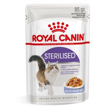 Royal Canin Sterilised em geleia