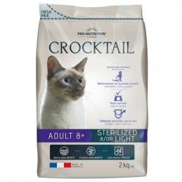 Flatazor Crocktail Cat Adult Sterilised & Light 8+