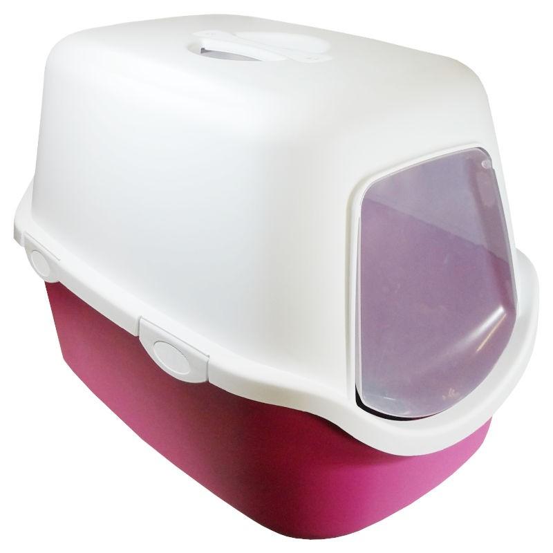 Arquivet Cathy wc fechado rosa e branco com filtro