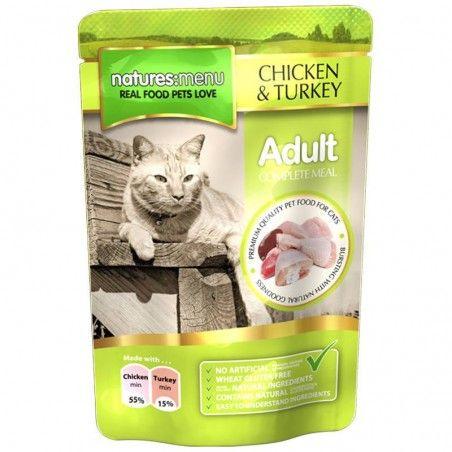 Natures Menu Cat Adult Chicken & Turkey