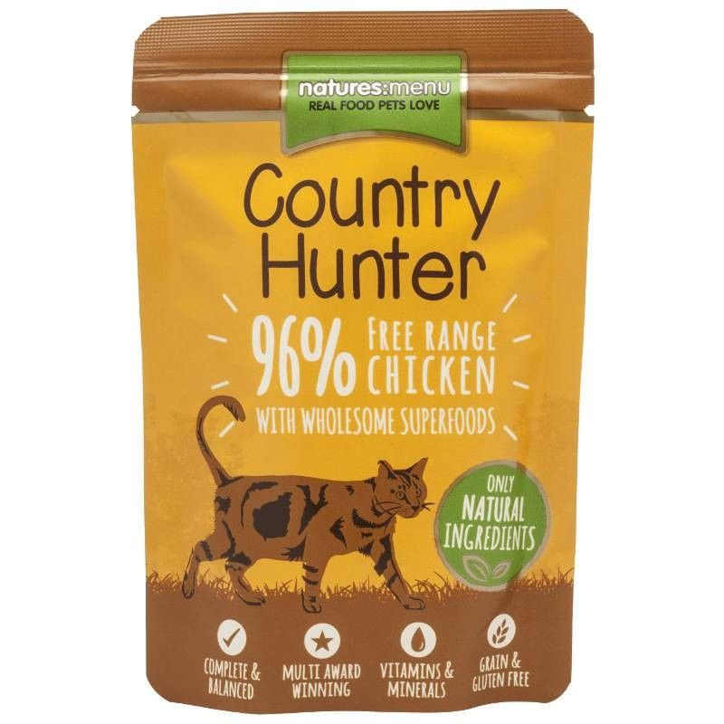 Natures Menu Country Hunter Cat Chicken