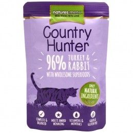 Natures Menu Country Hunter Cat Turkey & Rabbit