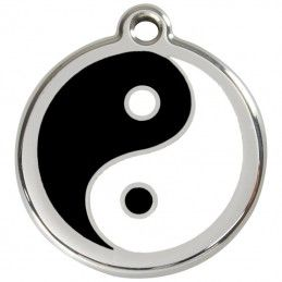 Red Dingo medalha identificadora Ying & Yang