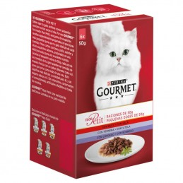 Purina Gourmet Mon Petit Seleção com Carnes Multipack 6x50gr