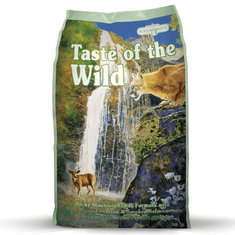 Taste of the Wild Cat Rocky Mountain Salmão Fumado & Veado