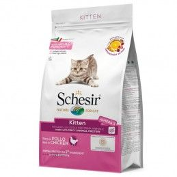 Schesir Cat Kitten Chicken