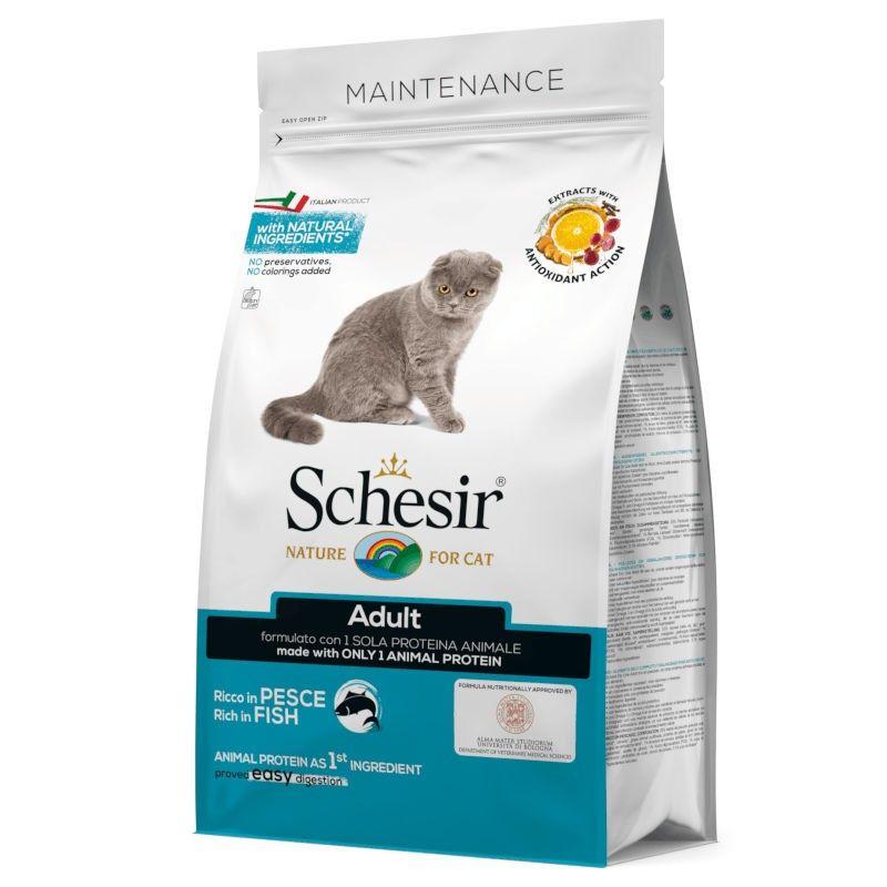 Schesir Cat Adult Fish Maintenance