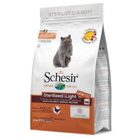 Schesir Cat Adult Sterilised & Light Chicken