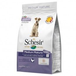 Schesir Dog Medium Mature Chicken