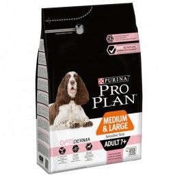 Purina Pro Plan Medium & Large Adult 7+ OptiDerma Salmon