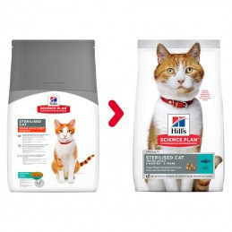 Hill's Science Plan Sterilised Cat Young Adult Tuna