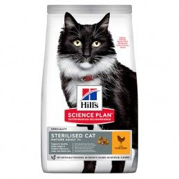 Hill's Science Plan Sterilised Cat Mature Adult 7+ Chicken