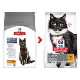 Hill's Science Plan Sterilised Cat Mature Adult 7+ Chicken