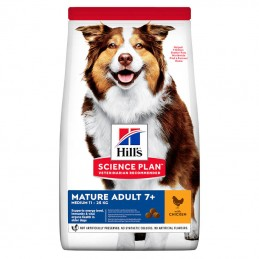Hill's Science Plan Medium Mature Adult 7+ Chicken