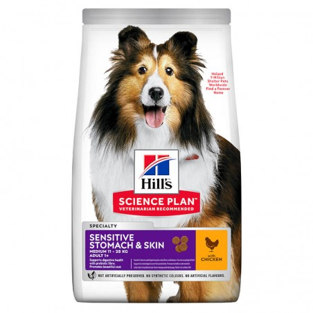 Hill's Science Plan Medium Adult Sensitive Stomach & Skin