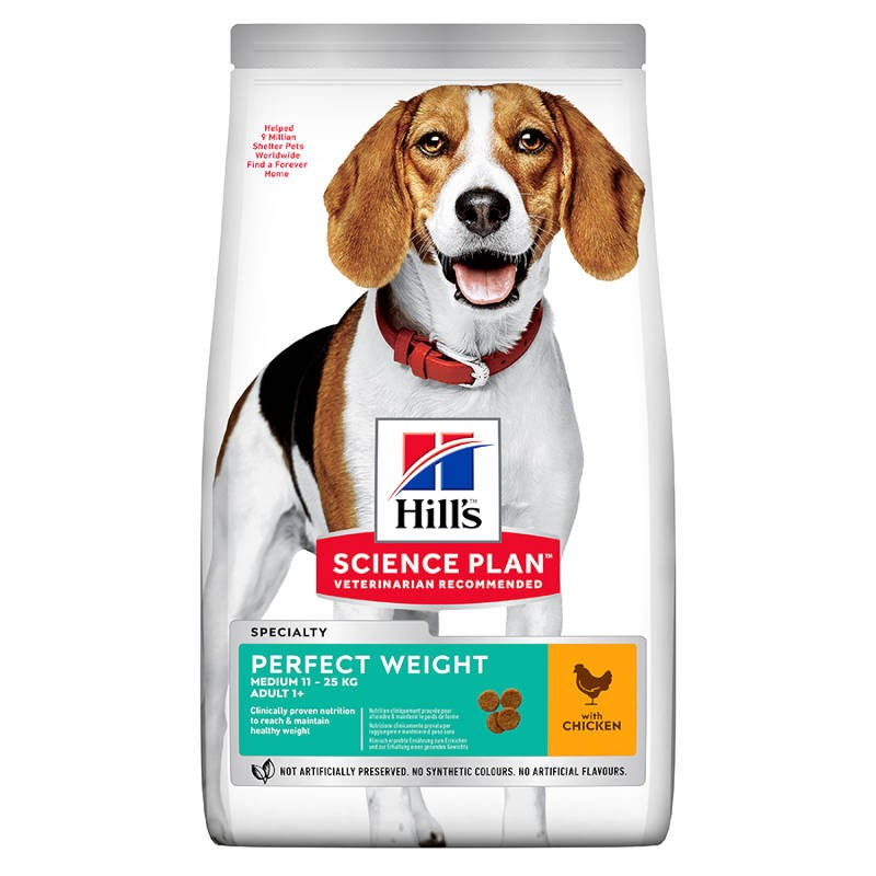 Hill's Science Plan Medium Perfect Weight Adult Chicken