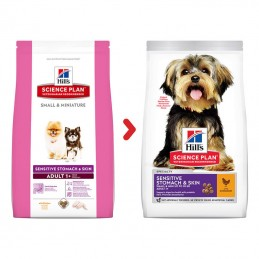 Hill's Science Plan Small & Mini Adult Sensitive Stomach & Skin Chicken