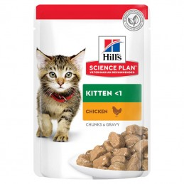 Hill's Science Plan Cat Kitten Chicken wet saqueta