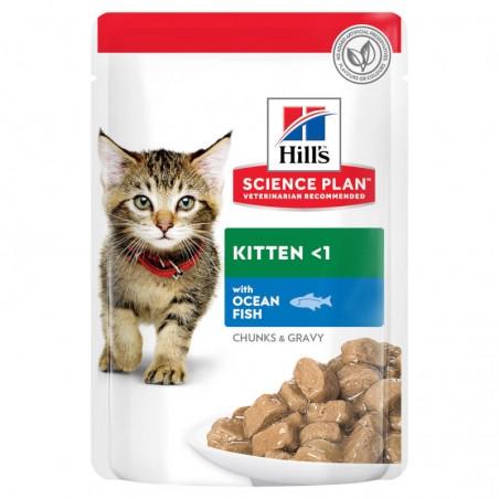 Hill's Science Plan Cat Kitten Ocean Fish wet saqueta