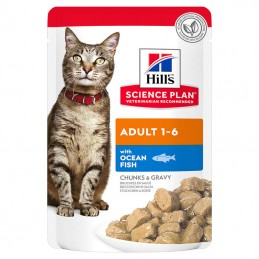 Hill's Science Plan Cat Adult Ocean Fish wet saqueta
