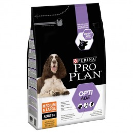 Purina Pro Plan Medium & Large Adult 7+ OptiAge Chicken