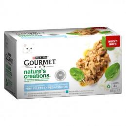 Gourmet Nature's Creations Peixe Oceano e Atum Multipack 4x85gr