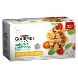 Gourmet Nature's Creations Frango e Peru Multipack 4x85gr