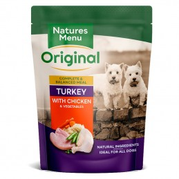 Natures Menu Turkey with Chicken & Vegetables