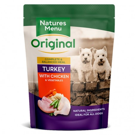 Natures Menu Original Turkey with Chicken & Vegetables