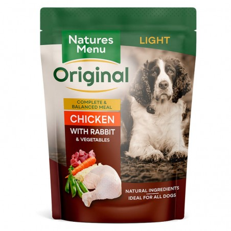 Natures Menu Original Light Chicken with Rabbit & Vegetables