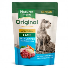 Natures Menu Original Senior Lamb with Chicken, Vegetables & Rice
