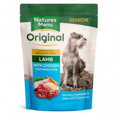 Natures Menu Original Senior Lamb with Chicken, Vegetables & Rice