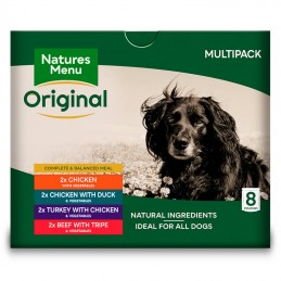 Natures Menu Original Multipack saquetas 8x300gr