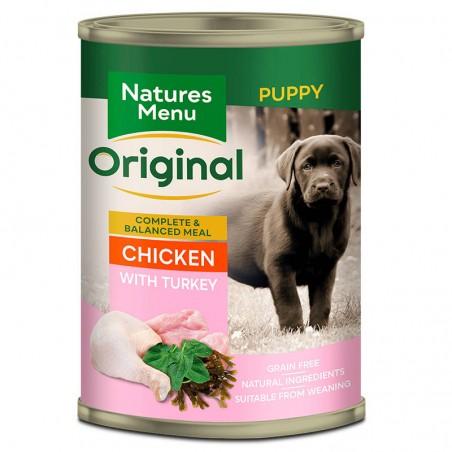 Natures Menu Original Puppy Chicken with Turkey