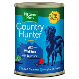 Natures Menu Country Hunter Wild Boar with Superfoods