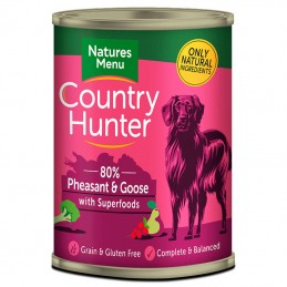 Natures Menu Country Hunter Pheasant & Goose with Superfoods