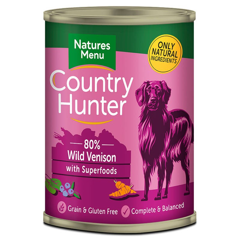 Natures Menu Country Hunter Venison with Superfoods