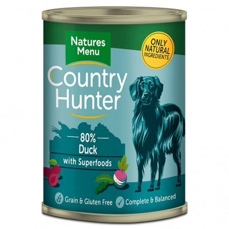 Natures Menu Country Hunter Duck with Superfoods