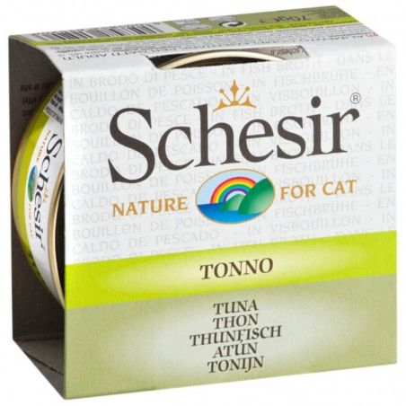 Schesir Cat Atum em caldo wet lata